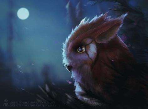 Night Owl by ArtKitt-Creations