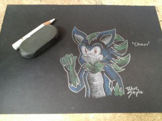 .:Request:. .:06:. Chaos the Hedgehog by BlueStylz