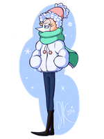 Winter Pearl by froggsalt