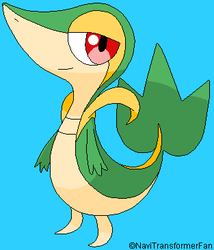 Snivy base by TheBlueTrickster