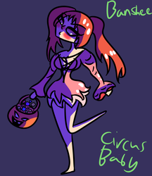 Circus Baby Halloween Banshee by Bonnie-nightmares