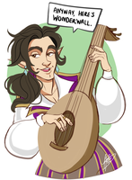 Scanlan Shorthalt by naomimakesart