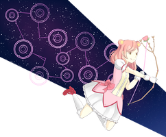 AT: Puella Magi Eve Magica by strawinmyberry