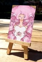 +Rose ACEO - Steven Universe+ by madhouse-arts