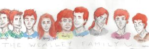 The Weasley Family by bonnielass221