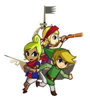 Wind Waker Pirate Youths V2 by Daboya