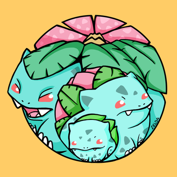 Bulbasaur by Zelditaa