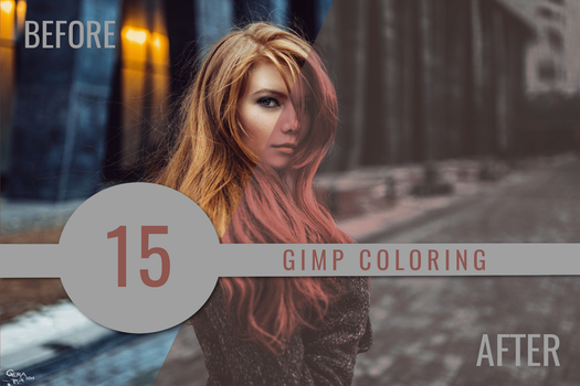 Gimp coloring #15 by oneyellowbee