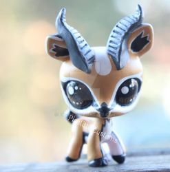 Littlest gazelle (LPS custom) by pia-chu
