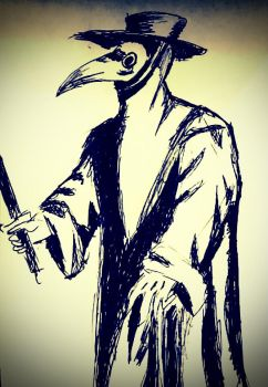 Plague doctor by ManchinesAndMonsters