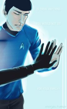 Spock - Star Trek Into Darkness by applejaxshii