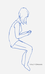[WIP] Sitting Practice by Volt-Draws