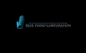 La Blue Hand(Corporation) by tahonard