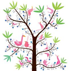 Birds at spring by nicolas-gouny-art