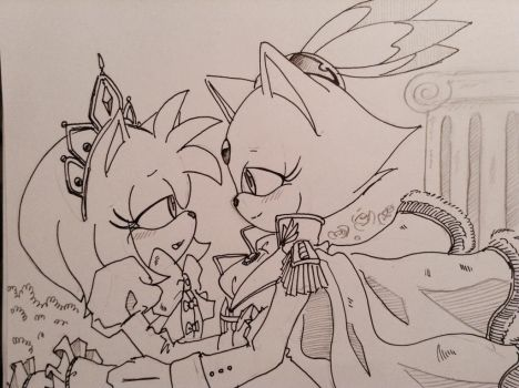 Blazamy: my princess by SMSSkullLeader
