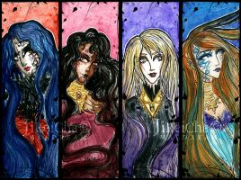 Bookmarks - Witches by MaeDreaM