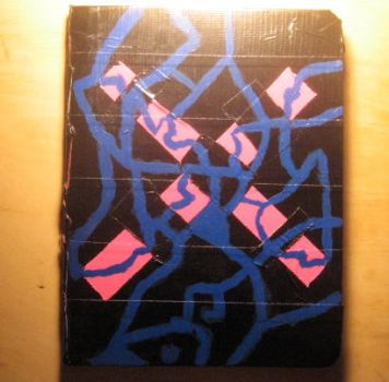 Duct Tape Notebook Back-Up by verin-x