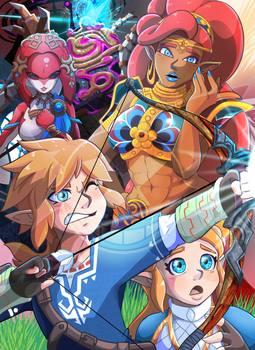 BOTW Print! Available on Etsy! by AngelXMikey