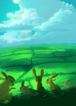 The View from Watership Down by Manic-and-Monstrous
