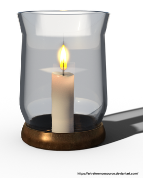 Free Stock Candle PNG by ArtReferenceSource