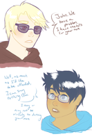 Dave and John's Mom Probs by Invaderbuggums
