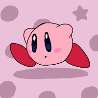Super Smash Bros 005-Kirby by Guuguuguu