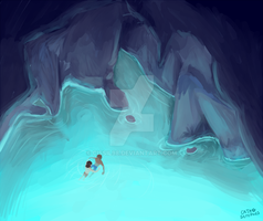 they found a cave by Cissil98