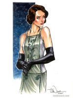 Mary Crawley, Downton Abbey by ToddNauck