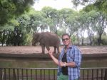 ME AND THE ELEPHANT by paintmarvels