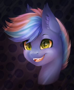 Commission - EchoMelody Bust by CSOX