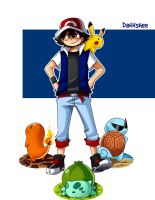 Ash and starters by Dannshee