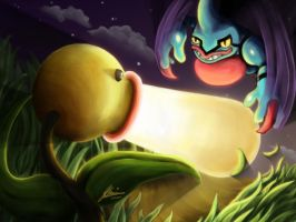 Bellsprout vs. Toxicroak