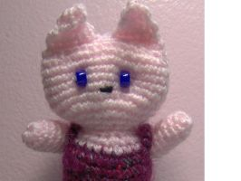 Amigurumi Kitty by ChezMichelle