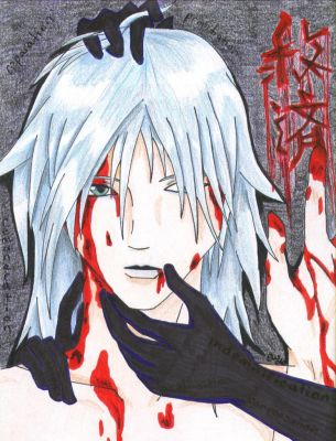 Bloodied Redemption - Riku by Yeito