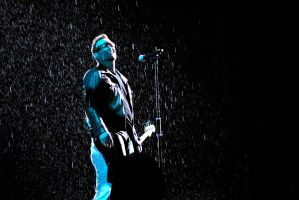 U2 in Moscow 8 - Bono by WilliH