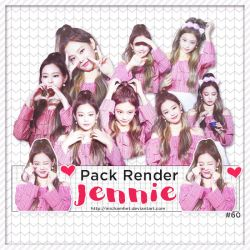 [Pack Render #60] [170708] Jennie (BLACKPINK) by michamhet