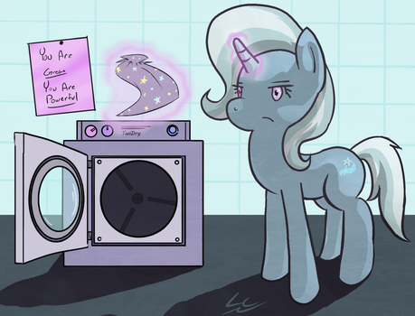 Trixie Does A Little Laundry by LiraCrown