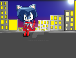Ultrawoman Ayumi Sonic Version by AnimeArtist154ever