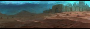 Speed Painting - Desert by SHadoW-Net