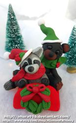 Sledding Buddies: Sold by ohara916
