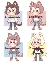 Cheap Sweater Kitty Adopts CLOSED by TheHoneybird