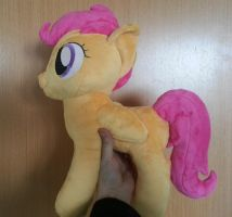 Scootaloo plush. by KnifeH