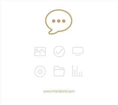 Vector Line Icons - Inventicons by atifarshad