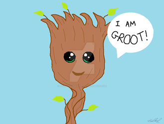 I am Groot! by hannahakaskatergirl