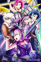 Rarity and the Blackhearts by Animechristy