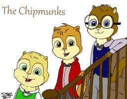 Just the Boys colored by Turtlegirl5