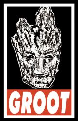 Obey Groot by The-Standard