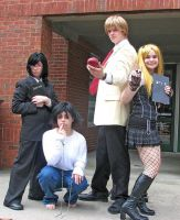 Death Note Cosplay Group by Chibi-Tohru