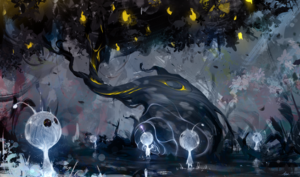 Day 4 - The Holy Lemon Tree by AaronGriffinArt