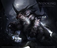 Nidoking by JRCoffronIII